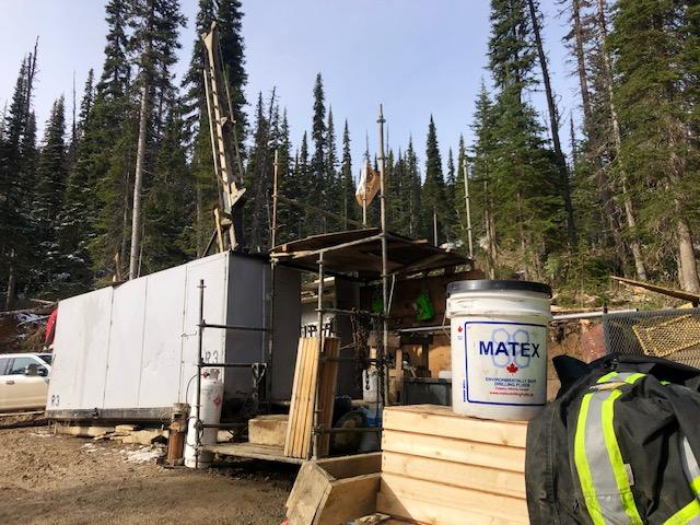 Matrix Drilling Tries Core Wrap