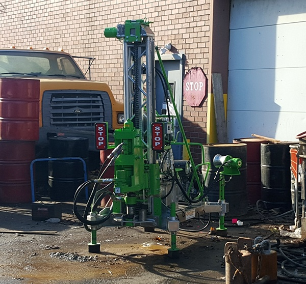 EXPLO 220 Geotechnical Drill Rig Hits Success in the Big City