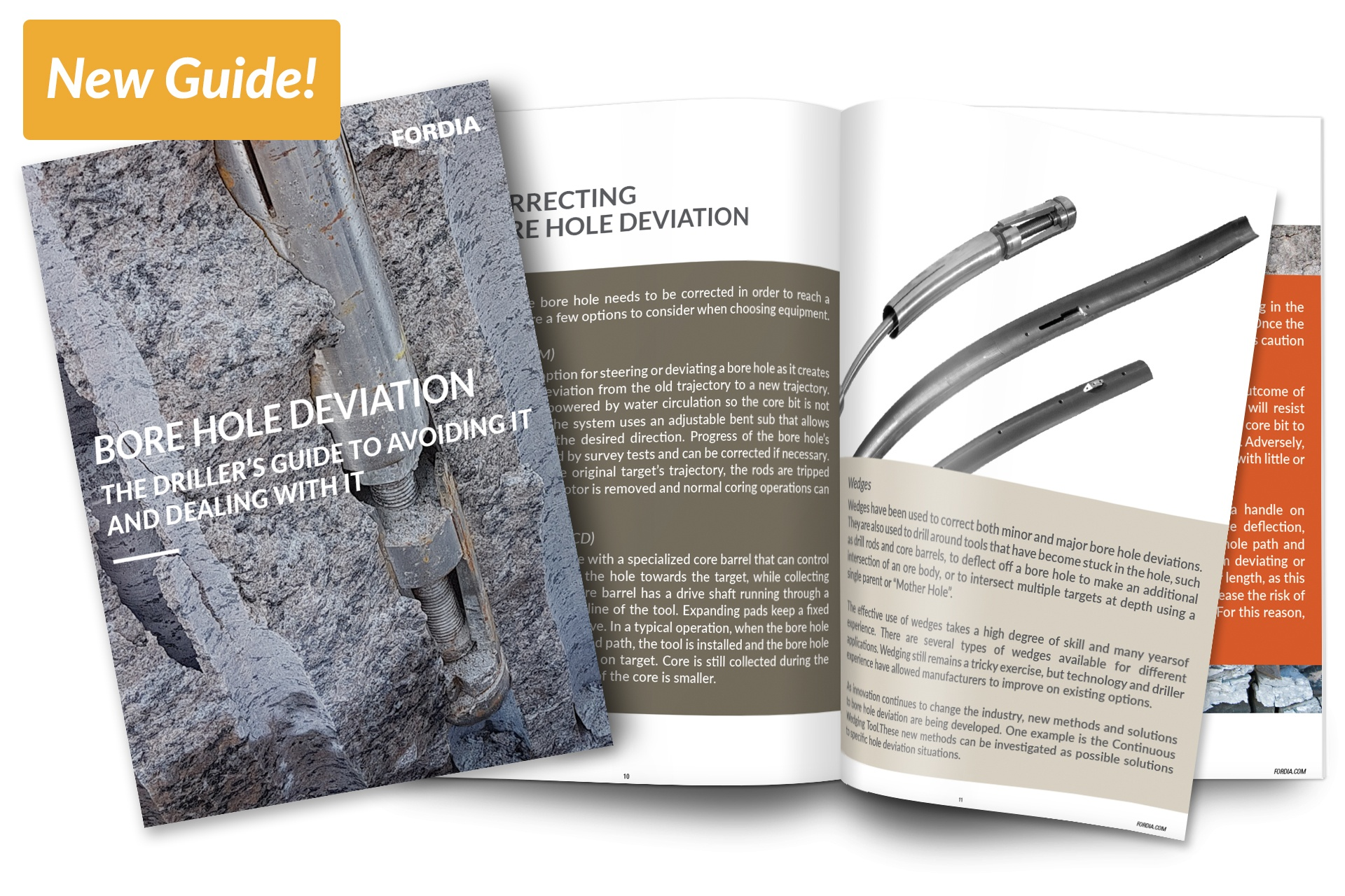 A New Guide for Diamond Drillers on Bore Hole Deviation